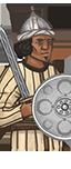 Andaluská pěchota, žoldnéři