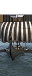 Drekkar Dragonship - Gothic Marines