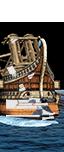 Roman Light Artillery Quinquereme - Lithobolos (Ship)