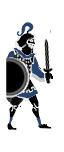 Indo-Greek Noble Swordmen