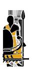 Assault Bireme - Auxiliary Sabaean Spearmen