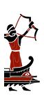 三排漿座大型弓箭船 - 後備賽巴弓箭手