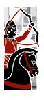 Arqueros a caballo partos auxiliares