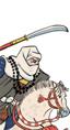Naginata Warrior Monk Cavalry