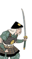 Ikko Ikki Loan Sword Ashigaru