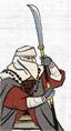 Ikko Ikki Naginata Warrior Monks