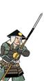 Ashigaru Oda con yari