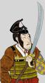 Soldados con espadas