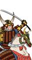 Cavalleria con katana di Kiyomasa