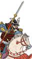 Dojo della cavalleria con yari