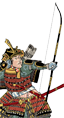 Dojo dei samurai con arco