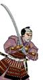 Samurai con nodachi