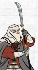 Naginata Warrior Monks