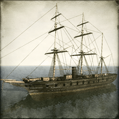 Copper plated Frigate - Kaiyo Maru class