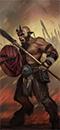 Ungor Spearmen Herd (Shields)