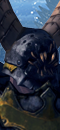 Chaos Sorcerer Lord (Shadows) (Chaos Steed)
