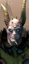 Chaos Sorcerer Lord (Metal) (Warhorse)