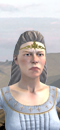 Damsel (Barded Warhorse)