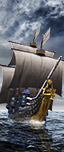 Galleon - Spearmen-at-Arms (Shields)
