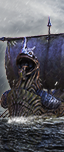 Норскийский драккар - Воины Хаоса