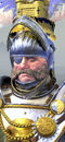 Boris Todbringer (Caballo de Guerra con barda)