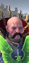 Volkmar el Sombrío (Caballo de Guerra con barda)