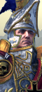 Karl Franz (Caballo de Guerra con barda)