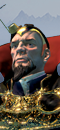 Hechicero Celestial (Caballo de Guerra con barda)