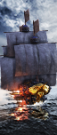 Grand navire - Joueurs d'Épée