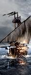Wolfsschiff - Schwertkämpfer