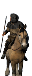 Mercenary Mounted Spear Raiders