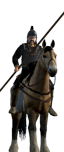 Mercenary Frankish Lancers