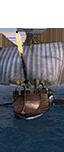 Liburna con artiglieria - Equipaggio vandalo mercenario d'artiglieria