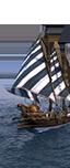 Dromonarion für griechisches Feuer - Slawische leichte Schiffer