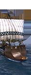 Überfall-Kondura - Slawische leichte Schiffer