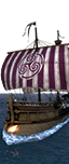 Castled Dromon Warship - Elite Byzantine Heavy Marines
