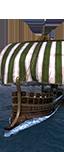 Боевая либурна с башней - Отборные германские гребцы