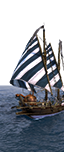 Dromonarion für griechisches Feuer - Nordische leichte Schiffer