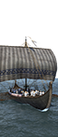 Skeid Longship - Germanic Archer Marauders