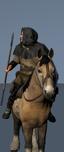 Конные налетчики с копьями