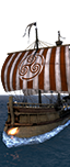 Dromon Warship - Elite Byzantine Heavy Marines
