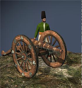 9 Lber Foot Artillery Ottoman Empire Napoleon