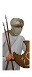 Mercenary Sabean Javelinmen