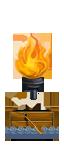 Бирема с греческим огнем - Вигилы