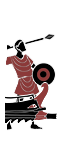 三排漿座中型追蹤船 - Carthaginian Javelinmen