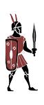 Einheimischer samnitischer Infanterist