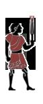 Einheimische sizilianische Stammeskrieger