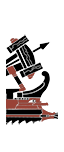 Римская легкая дальнобойная квинквирема - Иберская баллиста (корабельная)