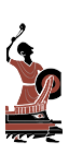 Греческая стрелковая пентера - Иберские пращники
