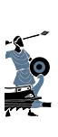 Stíhací trihemiolia - Oštěpáři